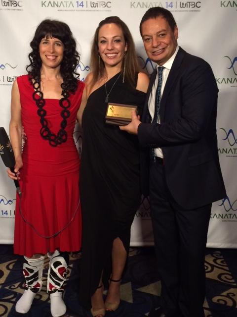 World Indigenous Journalism Awards presenter