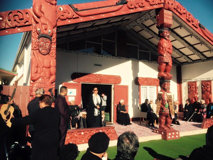 Tina Kaiawe, Te Puea Marae book launch - Photo / Charlotte Graham