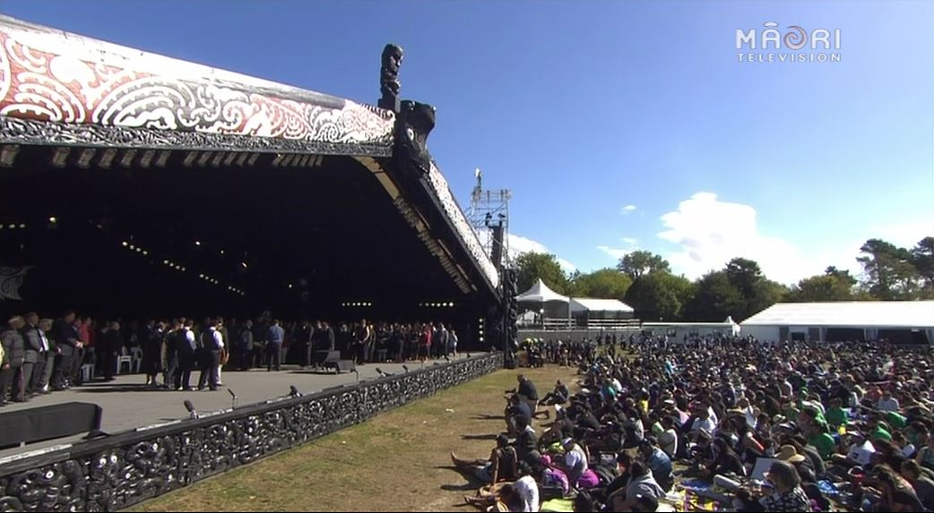 Prizegiving, Te Matatini 2015 - Photo / file