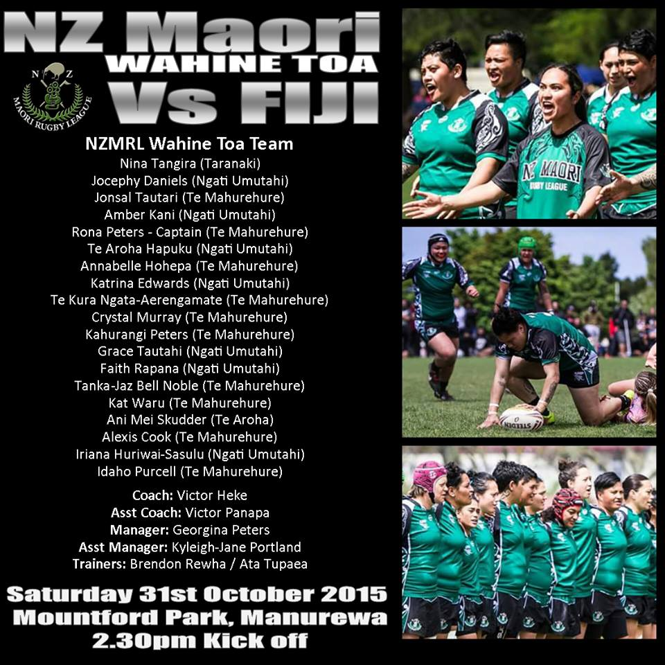 Photo /  NZ Maori Rugby League