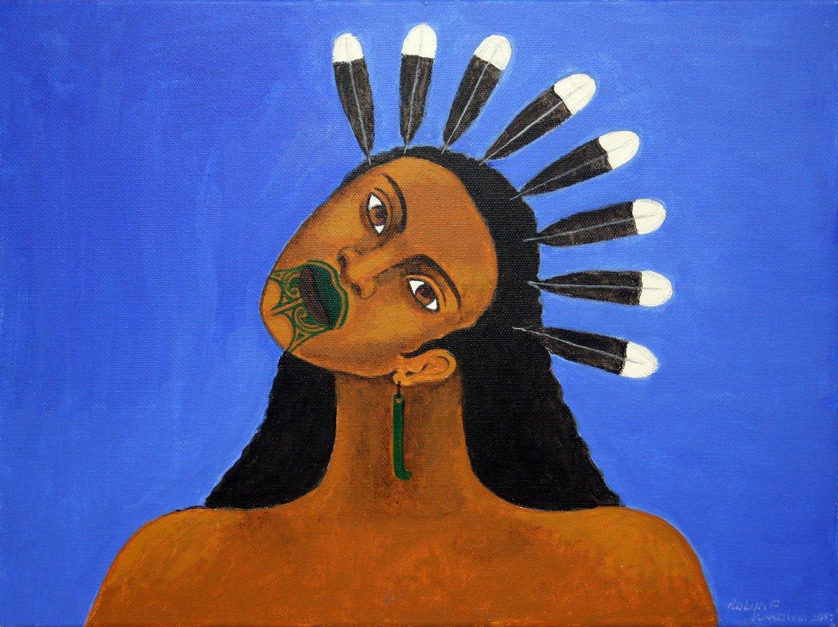 Maori Tapu: Robyn Kahukiwa's Latest Art Exhibition