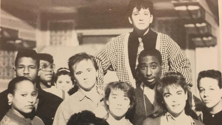 Baltimore School of Arts, 1988 Yearbook - Photo / Baltimore Sun