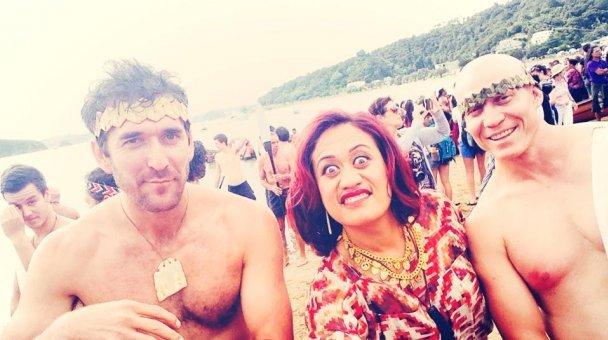 Selfie: Miss Kihi me ngā Kaihoe