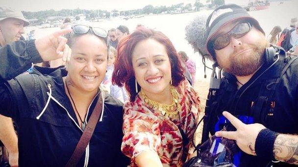 Selfie: Miss Kihi me ana hoa