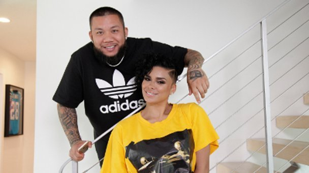 two shot JC that Barber and Laura Govan