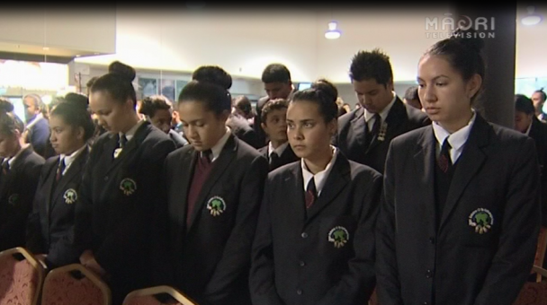 Ngā Manu Kōrero Tāmaki Regionals 2014 - Pōwhiri