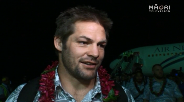 All Blacks arrive to Samoa - Photo / file