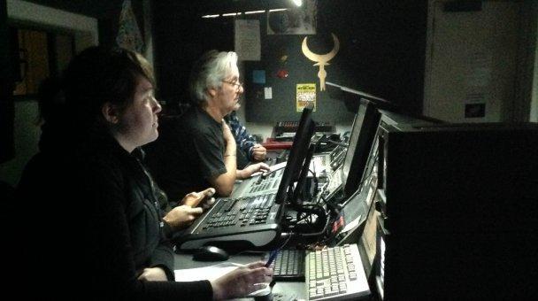 Anzac Production Control Room