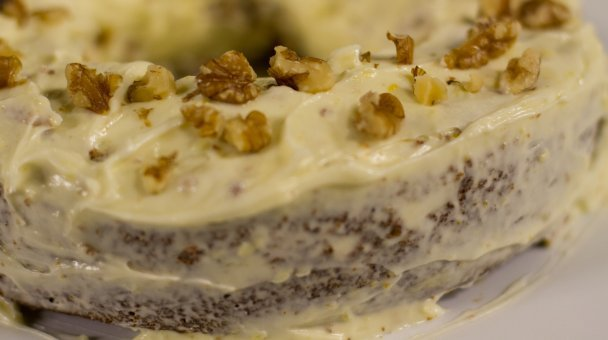 CU frosted carrot cake