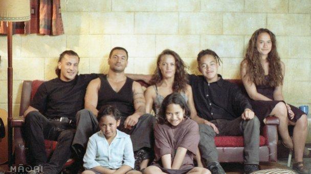 Heke Family portrait