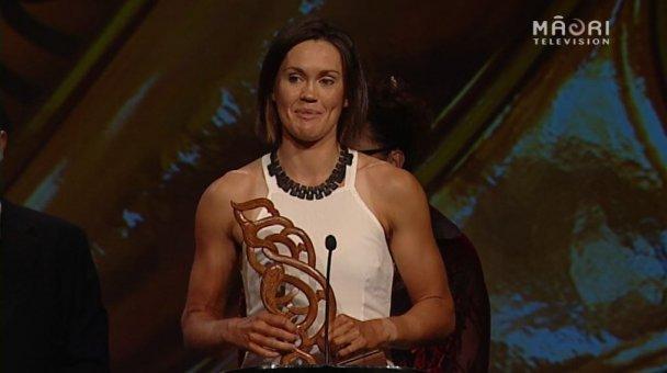 Fiona Bourke, 2014 Senior Māori Sportswoman of the Year