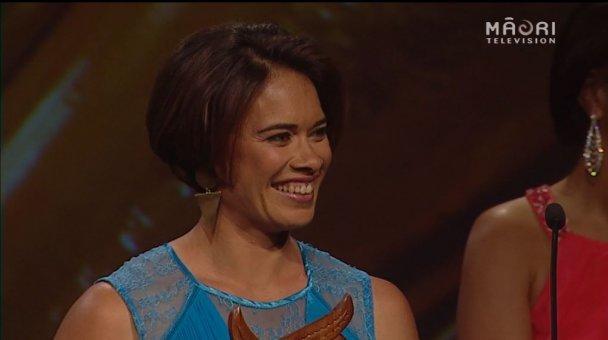 Rewa Harriman, 2014 Māori Sports Media Award winner