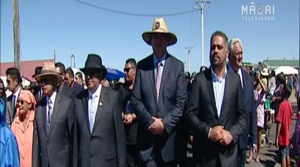 Māori Labour MPs arrive to Rātana Pā - Photo / file