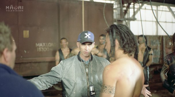 Lee talks to Nig at gang initiation scene