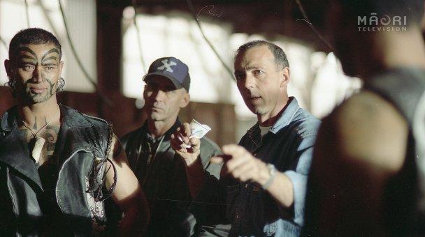 Lee & Stuart Shed with gangster