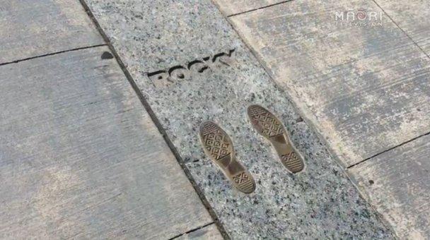 At the Rocky Steps, Philadelphia