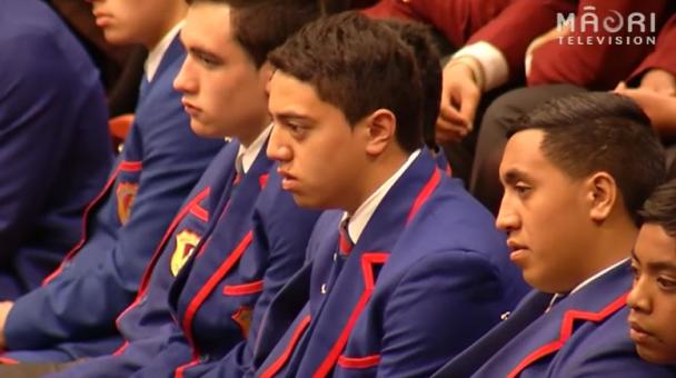 Ngā Manu Kōrero Nationals 2014 - Pōwhiri