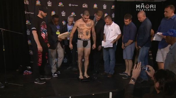 Weigh In for The Butcher