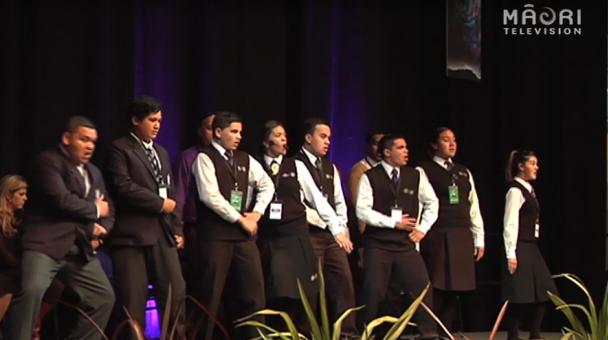 Ngā Manu Kōrero Nationals- Haka tautoko