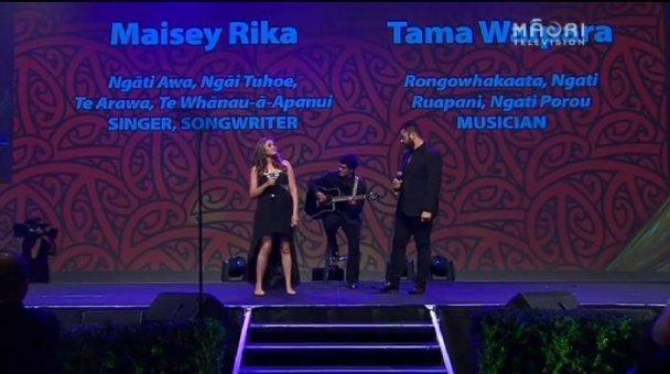 Maisey Rika, Tama Waipara