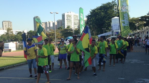 Opening ceremony - New Caledonia