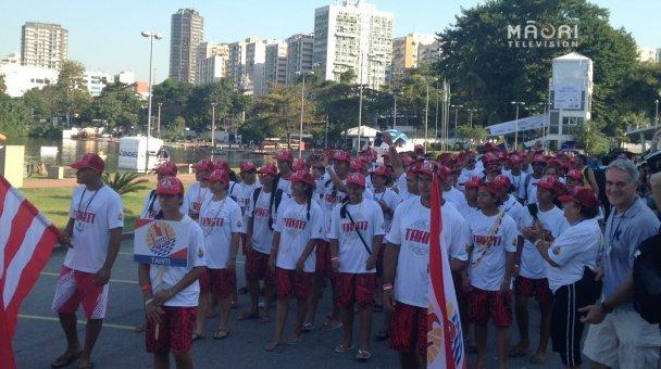 Opening ceremony - Tahiti