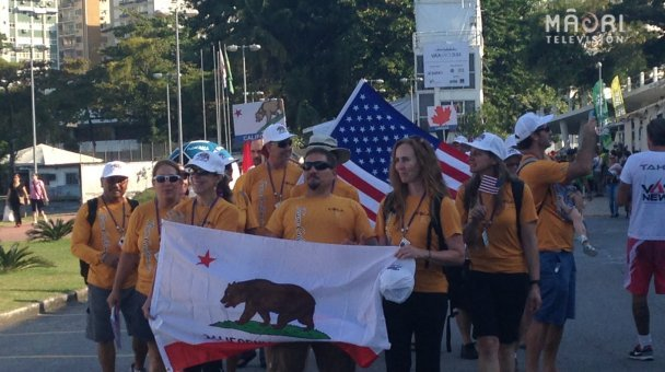 Opening ceremony - California