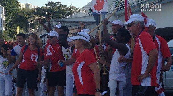 Opening ceremony - Canada