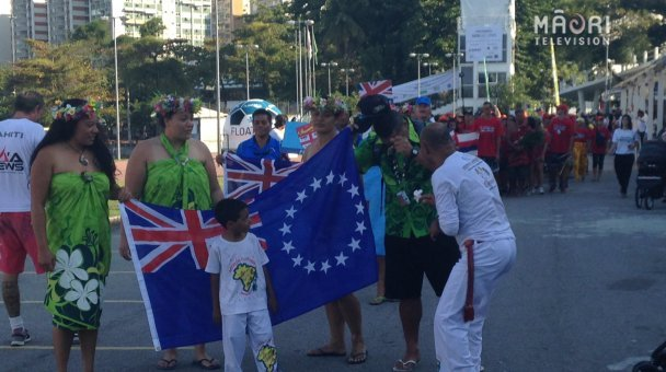 Opening ceremony - The Cook Islands