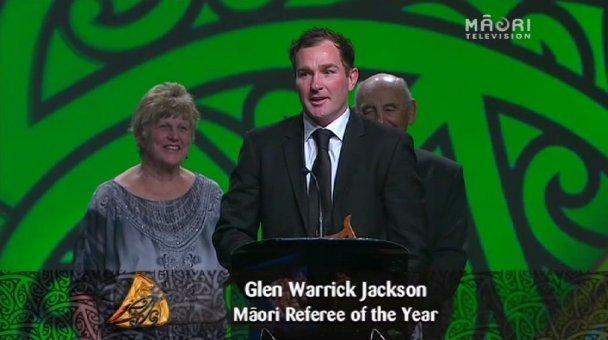 Glen Jackson, 2013 Māori Referee of the Year
