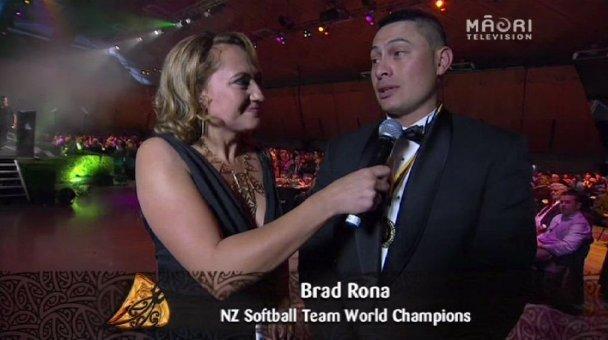 Melodie Robinson, Brad Rona, 2013 Māori Sports Awards