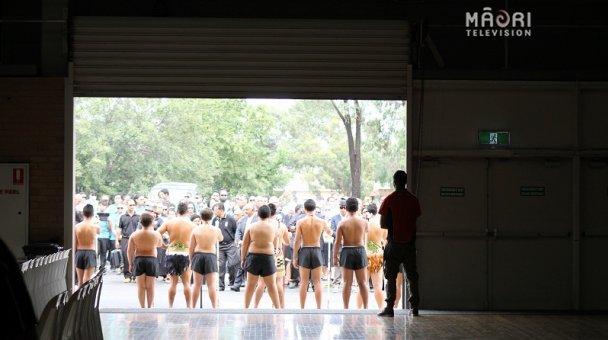 Australia Kapa Haka Festival Pōwhiri