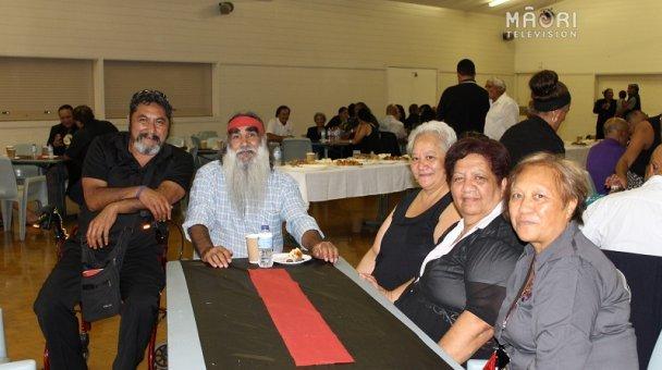 Archdeacon Karipa, Uncle Steve Williams, Taua Poihakena, Tahi Gage, Zina Abraham