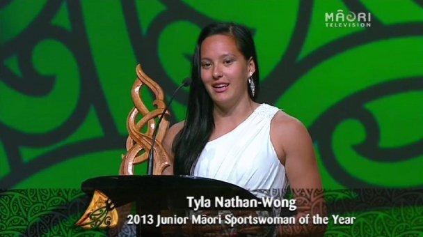 Tyla Nathan-Wong, 2013 Junior Māori Sportswoman of the Year