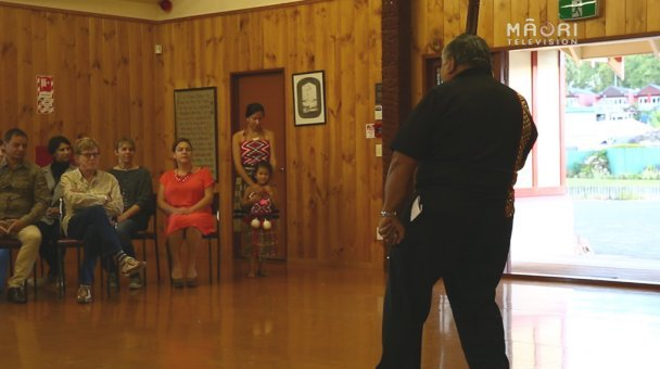 Pōhiri for Robert Redford at Ohinemutu Marae in Rotorua