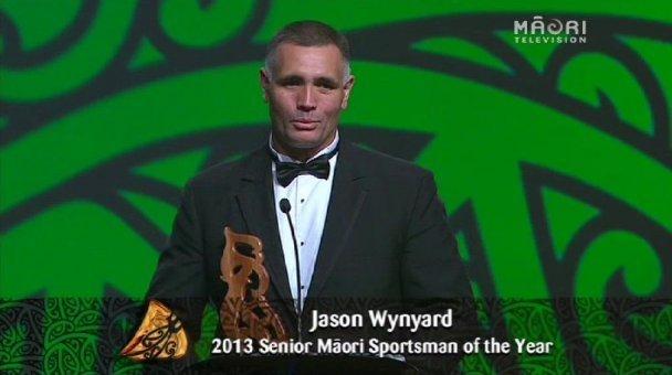 Jason Wynyard, 2013 Senior Māori Sportsman of the Year