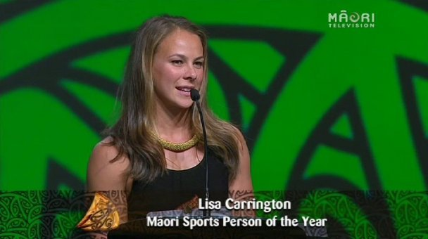 Lisa Carrington, 2013 Māori Sports Person of the Year