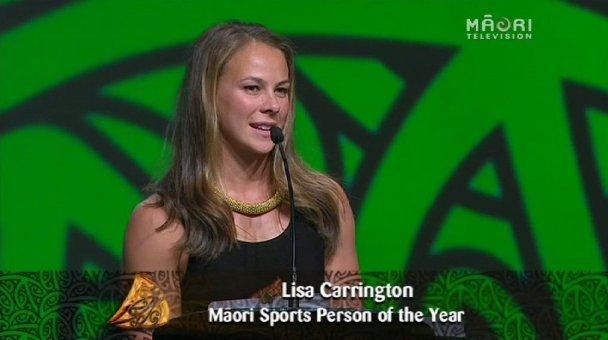Lisa Carrington, 2013 Māori Sports Person of the Year
