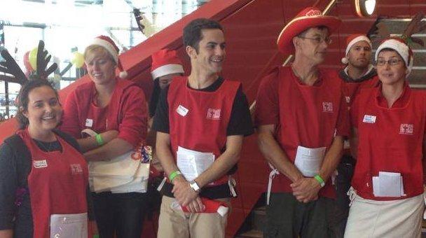 Auckland City Mission volunteers