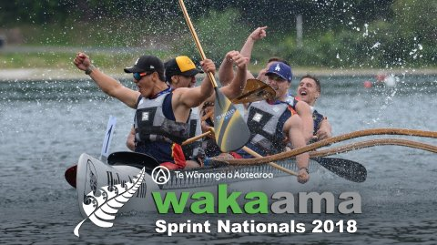 Waka Ama Sprint Nationals 2018