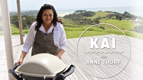 Kai with Anne Thorp