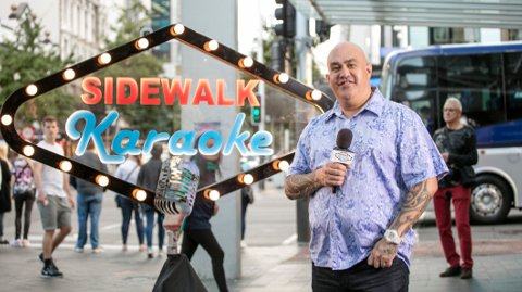 Sidewalk Karaoke