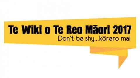 Te Wiki o Te Reo Māori 2017