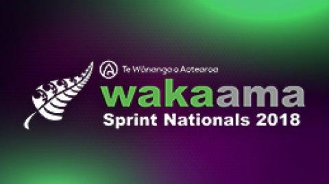 2018 Waka Ama Sprint Nationals
