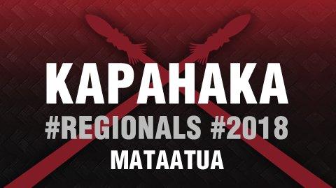 Regionals 2018 Mataatua