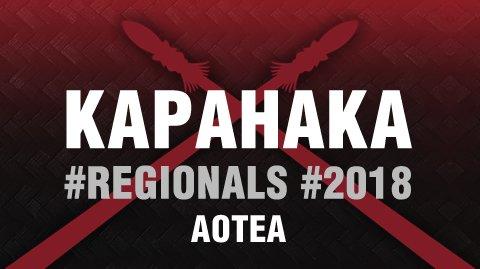 Regionals 2018: Aotea