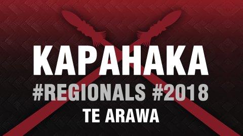 Regionals 2018: Te Arawa