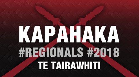 Regionals 2018 - Te Tairawhiti