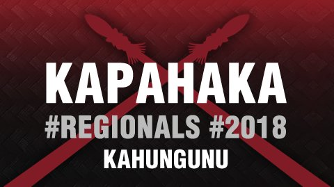 Regionals 2018 - Ngāti Kahungunu