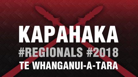 Regionals 2018 Te Whanganui-a-tara